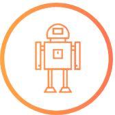 Icon Robot de téléprésence et robot d'accueil